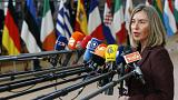 فدریکا موگرینی، مسئول سیاست خارجی اتحادیه اروپا