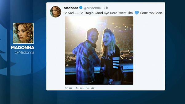 A tristeza expressada por Madonna através das redes sociais