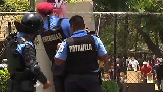 Nicaragua: Szenen wie in einem Bürgerkrieg