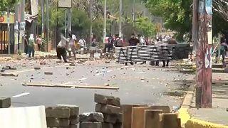 Kormányellenes tüntetés halottakkal Nicaraguában