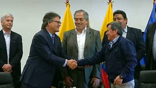 March 2018 peace talks between the ELN and the Colombia government in Quito