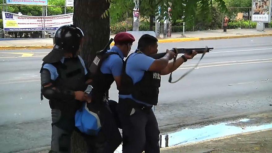 Продолжаются протесты в Никарагуа