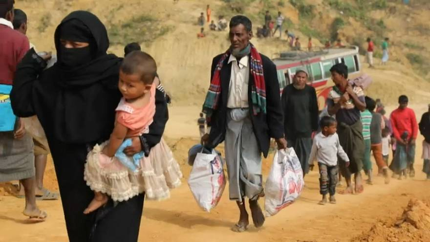 Рохинджа возвращаются в Мьянму