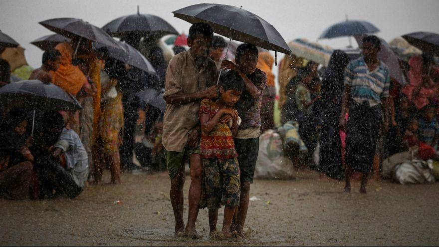 Imagem de arquivo de refugiados rohingya no Bangladesh