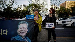 Güney Kore halkı Kim Jong-Un'nun açıklamalarına temkinli yaklaşıyor