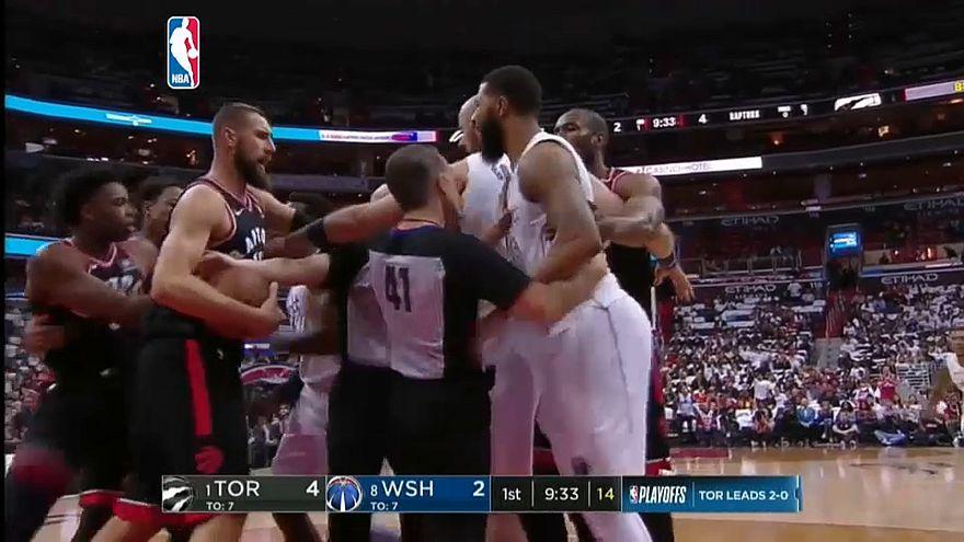 NBA: Die Washington Wizards schlagen Toronto Raptors 122 : 103