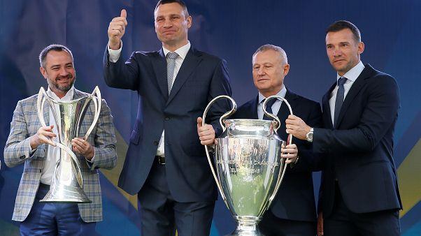 La 'Orejona' ya espera en Kiev