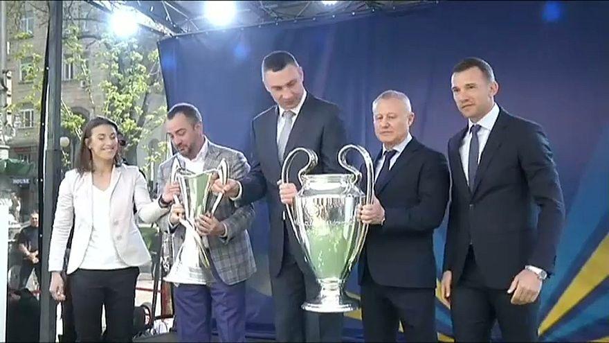 "Taça da ""Champions"" em Kiev"