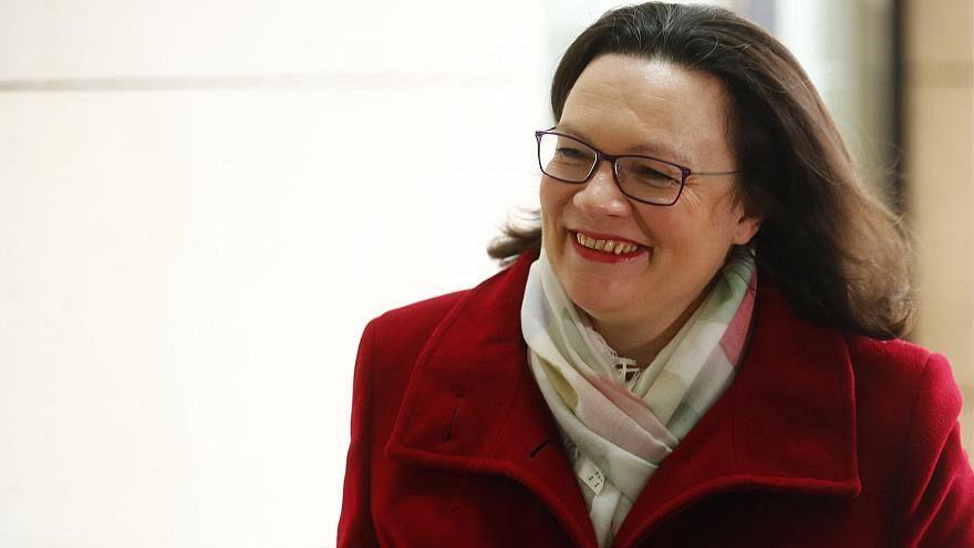 Böse Kommentare: Kann Andrea Nahles (47) die SPD aus dem Tief führen?
