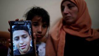 الطفل محمد أيوب (14 عاما) الذي قتل برصاصة في الرأس أطلقها جنود إسرائيليون