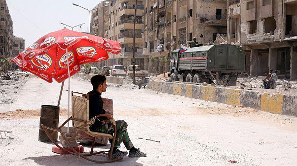 Les experts de l'OIAC sont entrés dans Douma