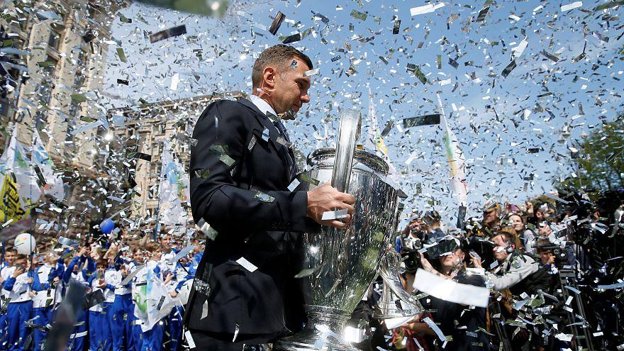 Кубки Лиги чемпионов - в Киеве