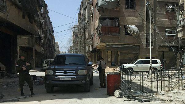شهر دوما در غوطه شرقی