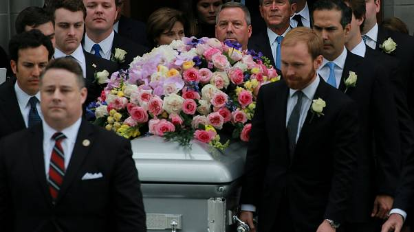 Τελευταίο «αντίο» στην Μπάρμπαρα Μπους