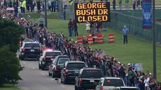 Texas: Letztes Geleit für Barbara Bush († 92)