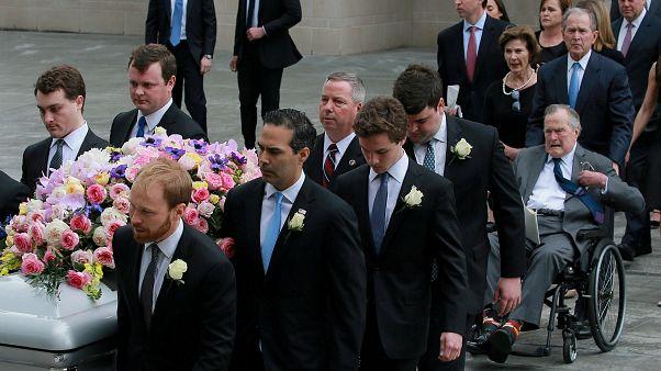 Похороны Барбары Буш