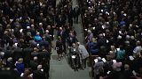 Le più potenti dinastie politiche americane ai funerali di Barbara Bush