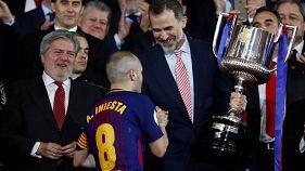 برشلونة يُتوّج بكأس ملك اسبانيا للمرّة الـ30 في تاريخه