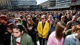 L'hommage des Suédois à Avicii