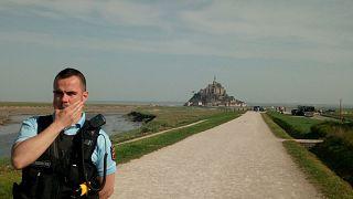 Frankreich: Insel Mont-Saint-Michel evakuiert