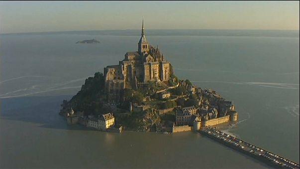 Reabre el Monte Saint-Michel, evacuado por las amenazas a la policía