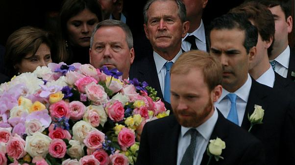 Barbara Bush'un cenaze töreni yapıldı