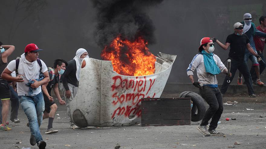 Έκκληση του Ντανιέλ Ορτέγκα για διάλογο