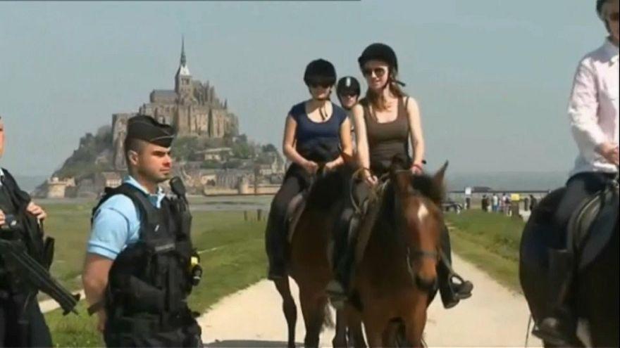 Мон-Сен-Мишель вновь доступен