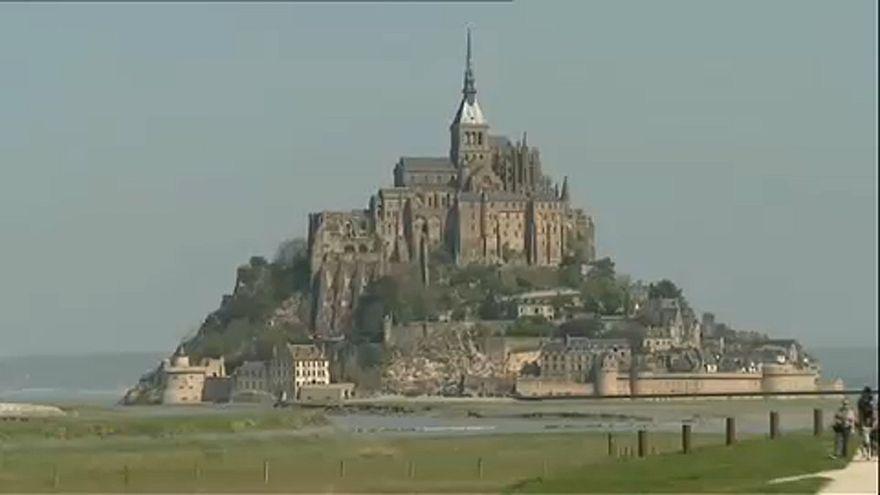 Kiürítették Mont-Saint-Michelt