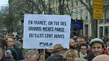 Protests in France after the murder of an 85-year-old Holocaust survivor