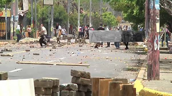 Three killed in protests over Nicaraguan social security reform