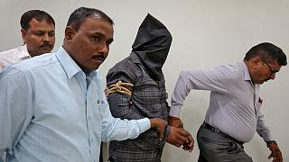 Harshsai Gurjar, who is accused of sexual attack