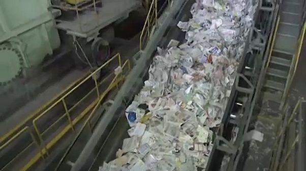 Kínai embargóból japán profit a papíriparban
