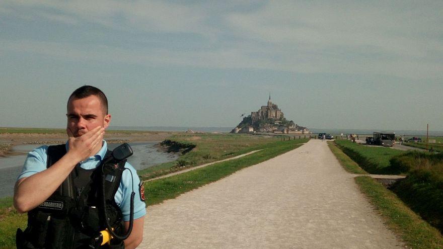 Mont-Saint- Michel adası turistik ziyarete yeniden açıldı