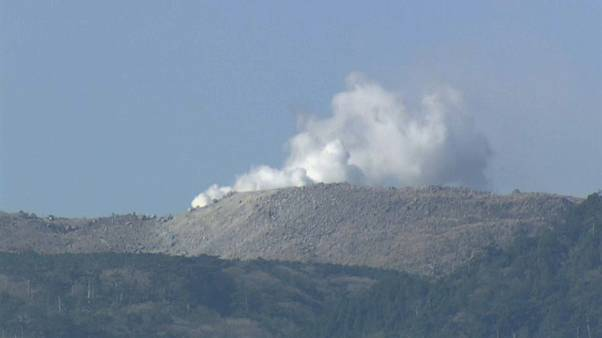 Volcano in southern Japan erupts for first time in 250 years