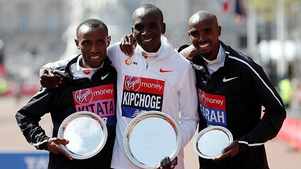 الیود کیپچوگ و سومین قهرمانی در ماراتن لندن