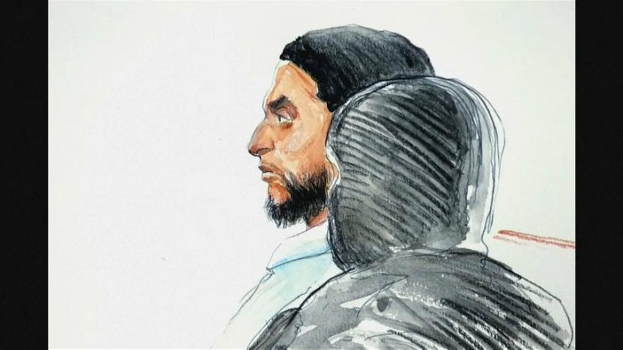 Abdeslam on trial in Brussels