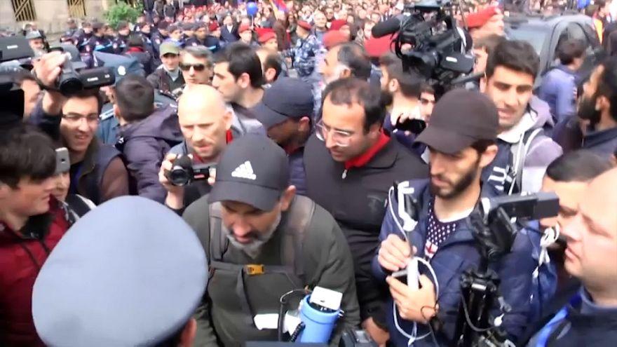В Армении задержан лидер оппозиции
