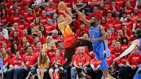 Utah Jazz Play-Off'larda Thunders'ın önüne geçti