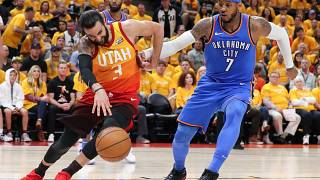 Play-offs: le Utah Jazz prend l'avantage sur Oklahoma City