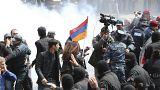 Crise en Arménie : le leader de l'opposition arrêté