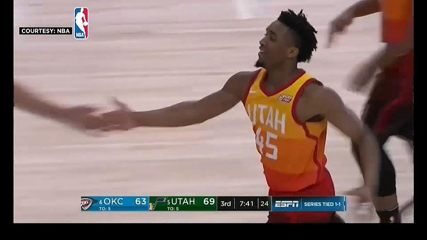 Utah Jazz siegt souverän über Oklahoma City Thunder