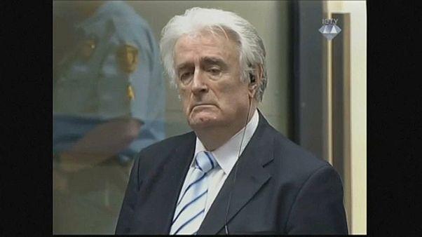 Karadžić a bíróságon
