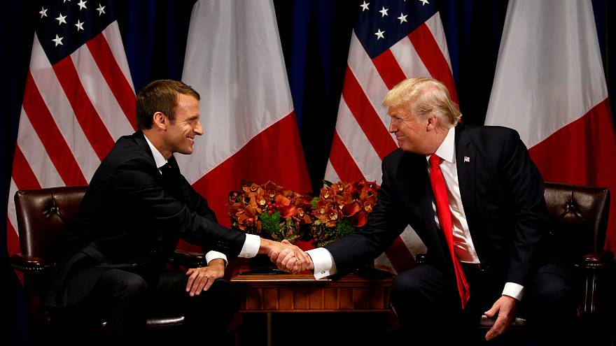 Treffen mit Trump: Macron will Handelskrieg verhindern