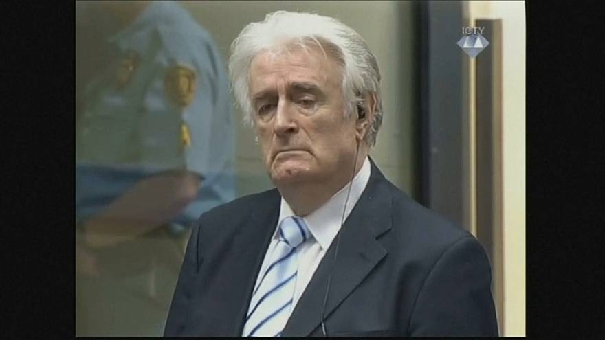 "Karadzic claims he should be given a ""new and fair"" trial"