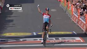 Genç bisikletçi Jungels'den Liège başarısı