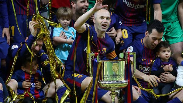 Iniesta: Abschiedsvorstellung im Pokalendspiel