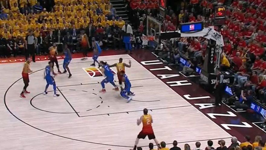 Utah Jazz volta a impor-se sobre Oklahoma City Thunder