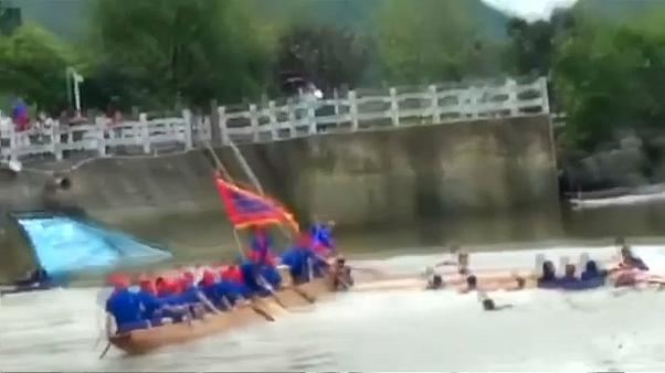 Tödlicher Unfall vor Drachenbootfest