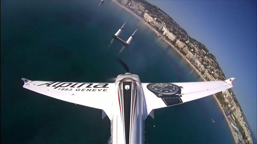 Этап Red Bull Air Race в Каннах